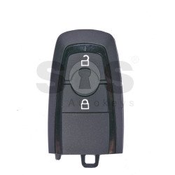 OEM Smart Key For Ford  Buttons:2 / Frequency:434MHz / Transponder:HITAG PRO / Blade signature:HU101 / Part No: 5457354 / HC3T-15K601-DB / Keyless GO