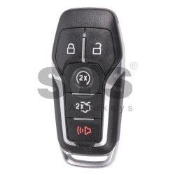 OEM Smart Key for Ford Buttons:4+1 / Frequency:902MHz / Transponder:HITAG-Pro / Blade signature:HU101 / Part No:DS7T-15K601-CL / Keyless Go ( Automatic Start )