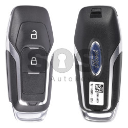 OEM Smart Key for Ford Buttons:2 / Frequency:434MHz / Transponder:HITAG-Pro / Blade signature:HU101 / Part No FL3T-15K601-FA / Keyless Go