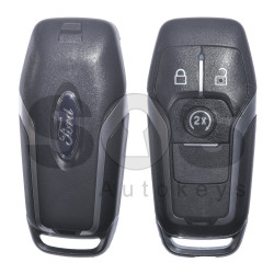 OEM Smart Key for Ford Buttons:3 / Frequency: 434MHz / Transponder: HITAG Pro / Blade signature: HU101 / Part No: GB5T-15K601-EA / Keyless Go ( Automatic Start )