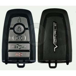 OEM Smart Key For Ford F150 Vignale  Buttons:4+1 / Frequency:902MHz / Transponder:HITAG PRO / Blade signature:HU101 / Part No:HS7T-15K601-BB / Keyless GO ( Automatic Start )