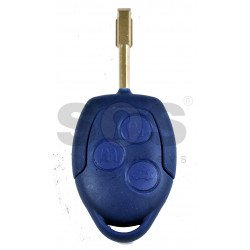 Remote Key for Ford Transit / Torneo Buttons:3 / Frequency:433MHz / Transponder:ID63 / Blade signature:FO21 / Immobiliser System:Dashboard / Part N :  6C1T15K601 AG / 1721051