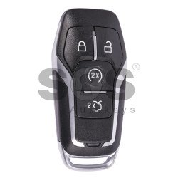 OEM Smart  Key for Ford Mustang Buttons:4 / Frequency:434MHz / Transponder:HITAG Pro / Blade signature:HU101 / Part No:FR3T-15K601-EA / Keyless Go