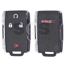 OEM Smart Key for GMC Buttons:3+1 / Frequency:315MHz / Blade signature:HU100 / Immobiliser System:BCM / Keyless Go ( Automatic Start )