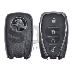 OEM Smart key for Holden Buttons:4 Frequency: 433MHz Transponder:HITAG2/ID46 Part No: 135 904 71 Keyless Go (Automatic Start)