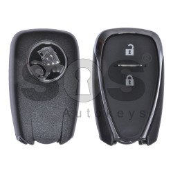 OEM Smart Key for Holden Buttons:2 / Frequency:433MHz / Transponder:HITAG2/ID46 / Part No:135 087 73 / Blade signature:HU100 / Immobiliser System:BCM / Keyless Go