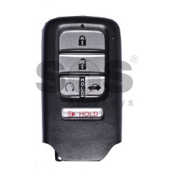 OEM Smart Key for Honda CIVIC Buttons:4+1 / Frequency:433MHz / Transponder:HITAG 128-Bit AES Honda / Blade signature:HON66 / Part No:72147-TBA-A111-M1 / Keyless Go ( Automatic Start )