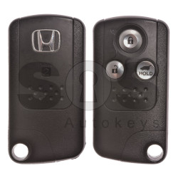 OEM Smart Key for Honda CR-V 2009+ Buttons:3 / Frequency: 433.92MHz / Transponder:HITAG2/ ID46/ PCF7953 BI-PHASE / Blade signature:HON66 / Part No:72147-T1G-E11 / Keyless Go