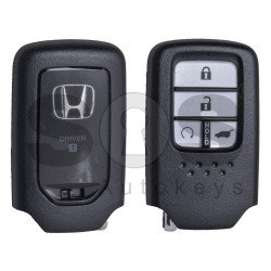 OEM Smart Key for Honda CRV Buttons:4 / Frequency: 433MHz / Transponder:HITAG 3 / Blade signature: HON66 / Part No: 72147-THA-H210-M1 / Automatic Start / Keyless Go