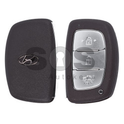 OEM Smart Key for Hyundai Buttons:3 / Frequency:433MHz / Transponder:RF430 / Blade signature:HY22 / Part No:1408210816 / Keyless Go