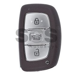 OEM Smart Key for Hyundai Buttons:3 / Frequency:433MHz / Transponder:PCF 7952 / Blade signature:HY22 / Part No:43314C051619 / Keyless Go