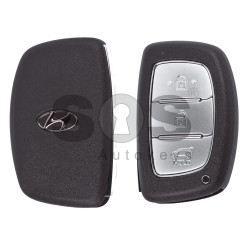 OEM Smart Key for Hyundai I20 Buttons:3 / Frequency:433MHz / Transponder:PCF 7945 / Blade signature:HY22 / Part No:95440-C8000 / Keyless Go
