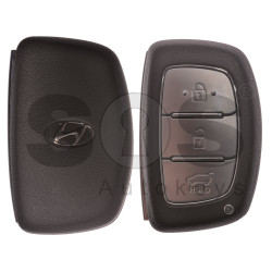 OEM Smart Key for Hyundai I20 2014+ Buttons:3 / Frequency: 433MHz / Transponder: HITAG2/ PCF7953/ ID46 / Blade signature:HY22 / Part No: 95440-C8000 / Keyless Go