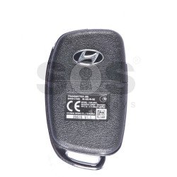 OEM Flip Key for Hyundai Buttons:3 / Frequency:433MHz / Blade signature:HY22 / Immobiliser System:Immobiliser Box / Part No:95430-C7500