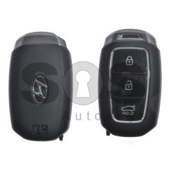 OEM Smart Key for Hyundai Celesta Buttons:3 / Frequency:433MHz / Transponder:HITAG3/128-Bit AES/ID47 / Blade signature:HY22 / Part No:95440-J4000 / Keyless Go