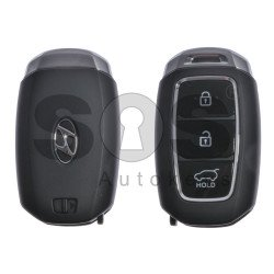 OEM Smart Key for Hyundai Buttons:3 / Frequency:433MHz / Transponder:HITAG 3/128-bit AES/ID47 Honda / Blade signature:HY22 / Part No:95440-M5200 / Keyless Go