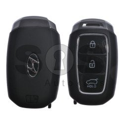 OEM  Smart Key for Hyundai Santa Fe 2018 Buttons:3 / Frequency:433MHz / Transponder:HITAG3/128-Bit AES/ID47 / Blade signature:HY22 / Part No:95440-S1100 / Keyless Go