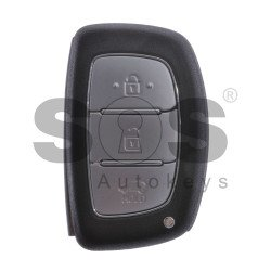 OEM Smart Key for Hyundai Tucson Buttons:3 / Frequency:433MHz / Transponder: HITAG3/128-Bit AES/ID47 / Blade signature:HY22 / Part No:95440-D3000 / Keyless Go / Korean Market
