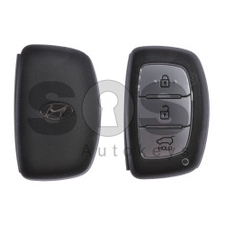 OEM  Smart Key for Hyundai Buttons:3 / Frequency:433MHz / Transponder:HITAG3 /128-Bit AES/ID47 / Blade signature:HY22 / Part No:95440-G2100 / Keyless Go
