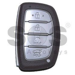 OEM Smart Key for Hyundai Tucson 2018-2019 Buttons:4 / Frequency: 433MHz / Transponder:HITAG3/ NCF2951X/ NCF2952X / Blade signature:HY22 / Part No:95440-D7100 / Keyless Go