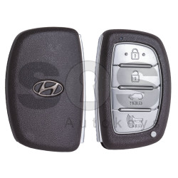 OEM Smart Key for Hyundai Tucson 2016 Buttons:4 / Frequency:433MHz / Transponder: HITAG3 / Blade signature: HY22 / Part No: 95440-D3100 / Keyless Go