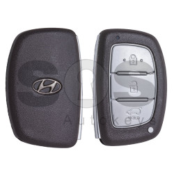 OEM Smart Key for Hyundai Tucson 2018 Buttons:3 / Frequency:433MHz / Transponder: HITAG3 / Blade signature: HY22 / Part No: 95440-D3010 / Keyless Go