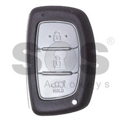 OEM  Smart Key for Hyundai Tucson Buttons:3 / Frequency:433MHz / Transponder: HITAG2/ ID46/ PCF7953 / Blade signature: HY22 / Part No: 95440-2S610 / Keyless Go