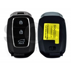 OEM Smart Key for Hyundai Buttons:3 / Frequency:433MHz / Transponder:HITAG 3/NCF 2951X/ NCF2952X/ Blade signature:HY22 / Part No:95440-01000 / Keyless Go
