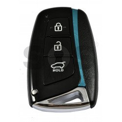 Smart Key for Hyundai Santa Fe 2013+ Buttons:3 / Frequency:433MHz / Transponder: HITAG2/ PCF 7952 / ID46 / Blade signature: HY22 / Part No: 95440-2W600 / Keyless Go