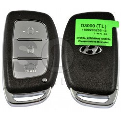 Smart Key for Hyundai Tucson Buttons:3 / Frequency:433MHz / Transponder: HITAG3/ NCF2971X/ NCF2972X / Blade signature: HY22 / Part No: 95440-D3000 / Keyless Go