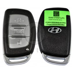 Smart Key for Hyundai Tucson 2019+ Buttons:3 / Frequency:433MHz / Transponder: HITAG3/ NCF2971X/ NCF2972X / Blade signature: HY22 / Part No: 95440-D7000 / Keyless Go
