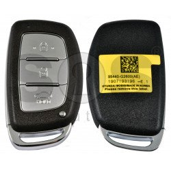 Smart Key for Hyundai Ioniq Buttons:3 / Frequency:433MHz / Transponder: HITAG3/ NCF2971X/ NCF2972X / Blade signature: HY22 / Part No: 95440-G2600 / Keyless Go