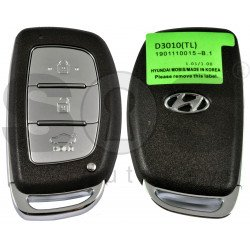 Smart Key for Hyundai Tucson 2018+ Buttons:3 / Frequency:433MHz / Transponder: HITAG3/ NCF2971X/ NCF2972X / Blade signature: HY22 / Part No: 95440-D3010 / Keyless Go