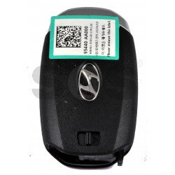 OEM Smart Key for Hyundai Avante Buttons:5 / Frequency:433MHz / Transponder: ATMEL AES  / Part No: 95440-AA000 / Keyless Go