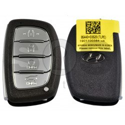OEM Smart Key for Hyundai Tucson 2020+ Buttons:4 / Frequency: 433MHz / Transponder:HITAG3/ NCF2951X/ NCF2952X / Blade signature:HY22 / Part No:95440-D3520 / Keyless Go / Automatic Start