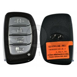 OEM Smart Key for Hyundai IONIQ Buttons:4 / Frequency: 433MHz / Transponder:HITAG3/ NCF2951X/ NCF2952X / Blade signature:HY22 / Part No:95440-G2500 / Keyless Go