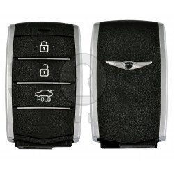OEM Smart Key for Hyundai Genesis Buttons:3 / Frequency:433MHz / Transponder:HITAG3/NCF2951X/ NCF2952X / Blade signature:HY22 / Part No:95440-G9100 / Keyless Go
