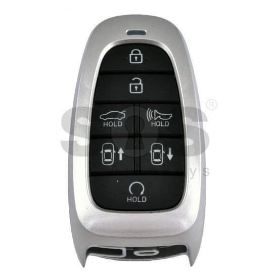 OEM Smart Key for Hyundai  Buttons:7 / Frequency:433MHz / Transponder:HITAG 3/NCF 29A1X/ Blade signature:HY22 / Part No: 95440-M5000 / Keyless Go / Automatic Start