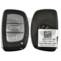 OEM Smart Key for Hyundai TUCSON 2020+ Buttons:3 / Frequency: 433MHz / Transponder:HITAG3/ NCF2951X/ NCF2952X / Blade signature:HY22 / Part No:95440-D7000 / Keyless Go