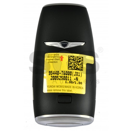 OEM Smart Key for Hyundai Genesis 2020+ Buttons:4 / Frequency:433MHz / Transponder:HITAG3/NCF2951X/ NCF2952X / Blade signature:HY22 / Part No:95440-T6000 / Keyless Go