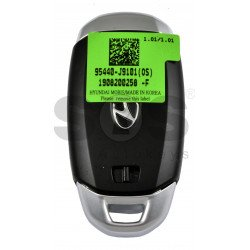 OEM Smart Key for Hyundai KONA 2002+  Buttons:3 / Frequency:433MHz / Transponder:HITAG 3/NCF 2951X/ NCF2952X/ Blade signature:HY22 / Part No: 95440-J9101 / Keyless Go