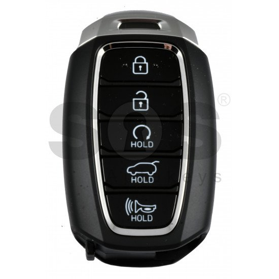 OEM Smart Key for Hyundai Palisade  2019+ Buttons:5 / Frequency:433MHz / Transponder:95440-S8010/ Blade signature:HY22 / Part No:95440-S8010/ Keyless Go / Automatic start