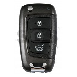 OEM Flip Key for Hyundai VELOSTER 2018+ Buttons:3 / Frequency:433 MHz / Transponder:TIRIS DST80 / Blade signature: / Part No 95430-J3100
