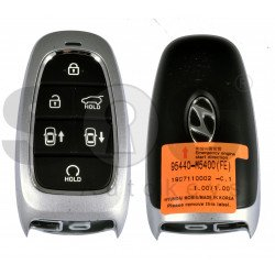 OEM Smart Key for Hyundai 2020+  Buttons:6 / Frequency:433MHz / Transponder:HITAG 3/NCF 29A1X/ Blade signature:HY22 / Part No: 95440-M5400 / Keyless Go / Automatic Start