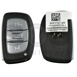 OEM Smart Key for Hyundai 2020+ Buttons:3 / Frequency: 433MHz / Transponder:HITAG3/ NCF2951X/ NCF2952X / Blade signature:HY22 / Part No:95440-D7010 / Keyless Go