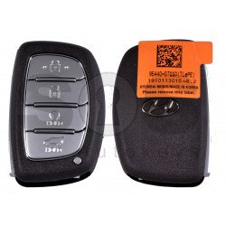 OEM Smart Key for Hyundai  2020+ Buttons:4 / Frequency: 433MHz / Transponder: NCF295/HITAG 3 / Blade signature:HY22 / Part No:95440-D7110/ Keyless Go / Automatic Start