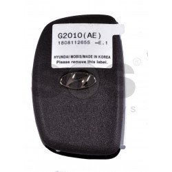 OEM Smart Key for Hyundai Ioniq 2020+ Buttons:4 / Frequency: 433MHz / Transponder: NCF295/HITAG 3 / Blade signature:HY22 / Part No:95440-G2010/ Keyless Go