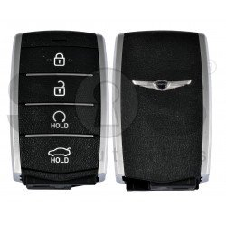 OEM Smart Key for Hyundai Genesis 2019+ Buttons:4 / Frequency:433MHz / Transponder:HITAG3/NCF2951X/ NCF2952X / Blade signature:HY22 / Part No:95440-G9200 / Keyless Go / Automatic Start
