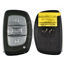 OEM Smart Key for Hyundai Tucson 2020+ Buttons:3 / Frequency: 433MHz / Transponder:HITAG3/ NCF2951X/ NCF2952X / Blade signature:HY22 / Part No: 95440-F8500 / Keyless Go