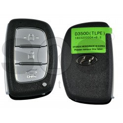 OEM Smart Key for Hyundai Tucson Buttons:3 / Frequency: 433MHz / Transponder: NCF295/HITAG 3 / Blade signature:HY22 / Part No:95440-D3500/ Keyless Go